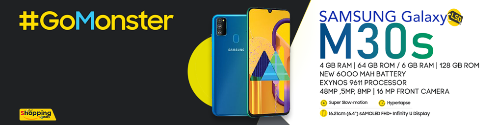 Samsung Galaxy m30s mobile only on Amazon